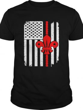 Scouting Scout American Flag shirt
