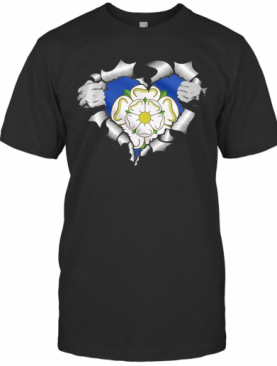 Blood Insides Led Zeppelin Logo Flower Logo T-Shirt