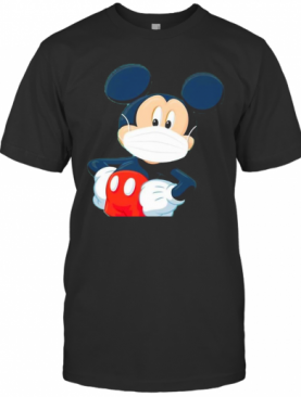 Disney Mickey Mouse Wear Mask T-Shirt