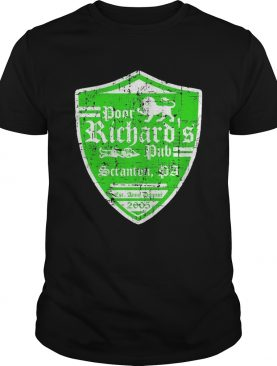 Poor richards pub from the office shirt