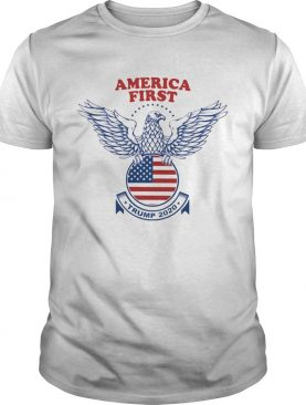 Trump Nazi Eagle America First 2020 shirt
