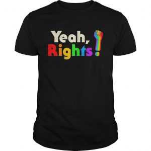 Yeah rights black lives matter LGBT shirt