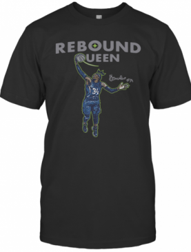 Awesome Sylvia Fowles Rebound Queen 2020 T-Shirt