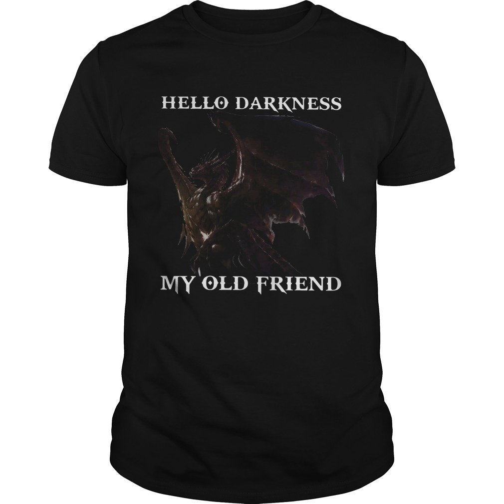 Drangon Hello Darkness My Old Friend  Unisex