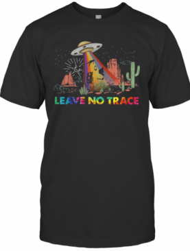 Leave No Trace Camping UFO T-Shirt