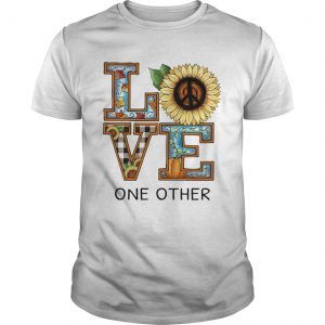 Love One Other Sunflower Pumpkin shirt