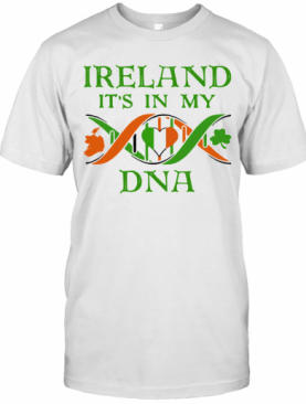 Official Ireland It'S In My DNA T-Shirt