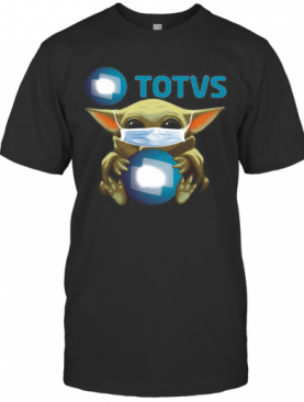Star Wars Baby Yoda Mask Hug Totvs T-Shirt