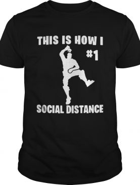 The Elf This Is How I 1 Social Distance shirt