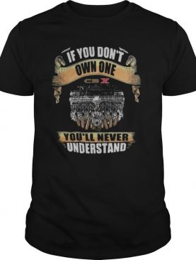If you don't own one you'll never understand cbx shirt