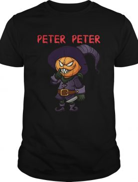 Peter Peter Halloween Killer Pumpkin Head shirt