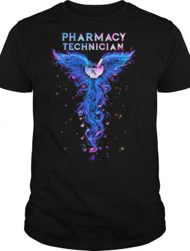 Pharmacy Technician With Angel Wings shirt