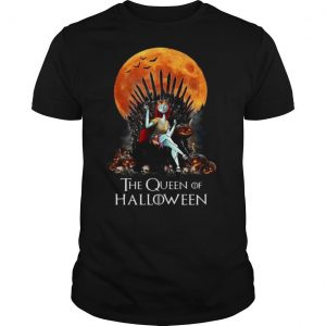 Sally The Queen Of Halloween shirt