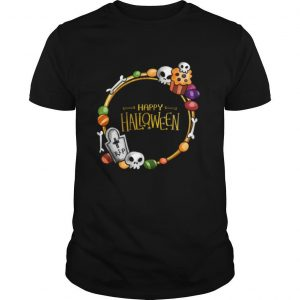 Skull Day Dead Happy Halloween shirt