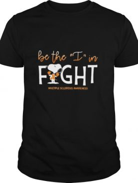 Snoopy be the i in kind multiple sclerosis awareness shirt