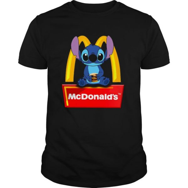 Stitch Hug McDonald's shirt