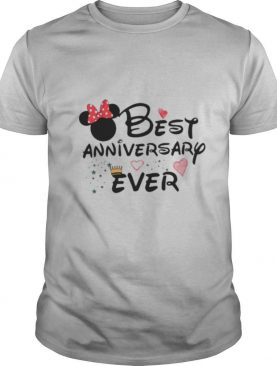 Best anniversary ever minnie mouse shirt