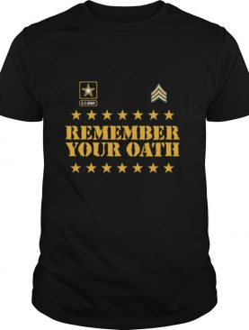 Remember Your Oath shirt