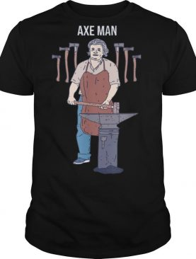 Axe Man Lumberjack Axe Throwing shirt