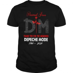 Personal Jesus Dm Thank You For The Memories Depeche Mode 1980 2020 shirt