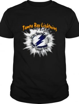Blood inside Me Tampa Bay Lighting shirt