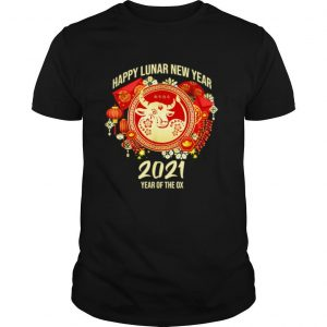 Happy Lunar New Year 2021 Year Of The Ox shirt