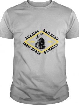 Reading Railroad Iron Horse Rambles 1959 1964 Logo shirt