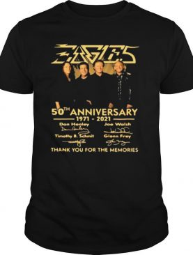 Eagles 50th Anniversary 1971 2021 Don Henley, Joe Walsh Timothy B. Schmit Signature shirt