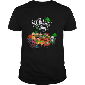 Snoopy And The Peanut Movie Party Happy St Patricks Day shirt