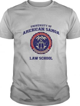 University Of American Samoa Law School shirt